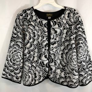 Bob Mackie Wearable Art Jacket Xl